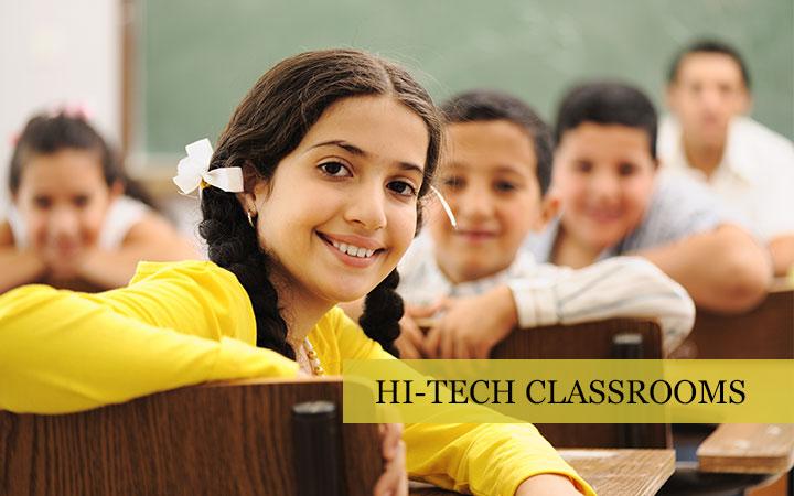 Hi-Tech Classrooms